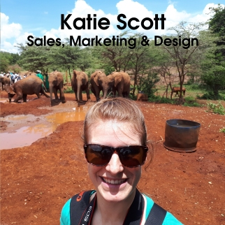 Katie Square Text