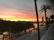 Seville promenade