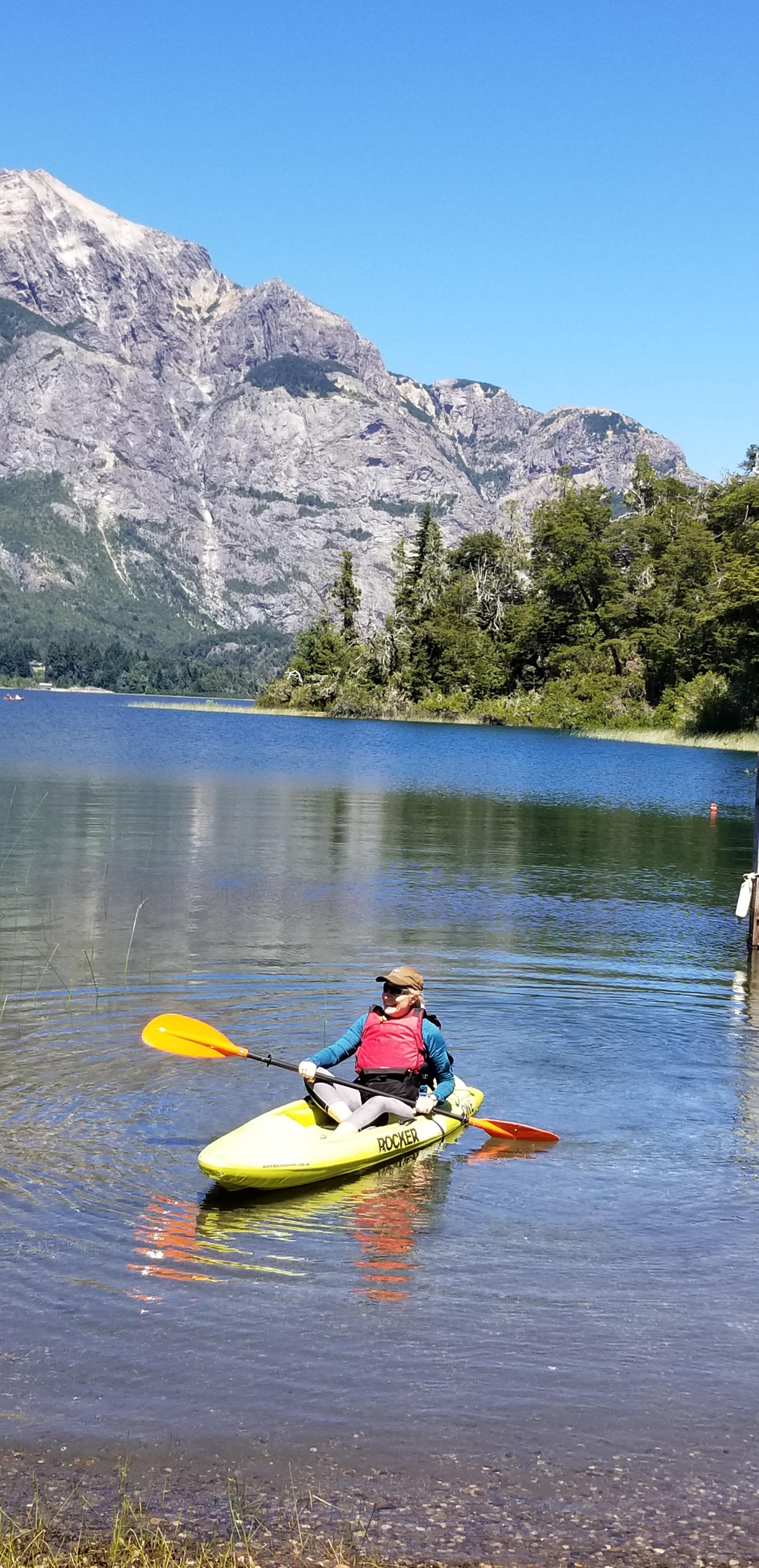 llao llao kayaking