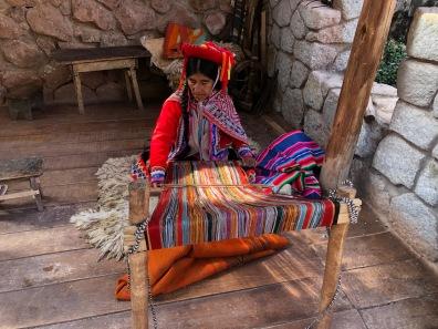 Day 2 Woman Weaving
